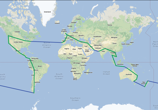 Route-to-cycle-around-the-world