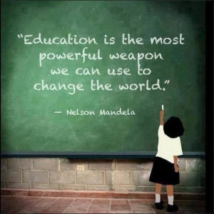 Education changes the world