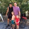 Right to left: Fraser, Jonah, Jimmy, India