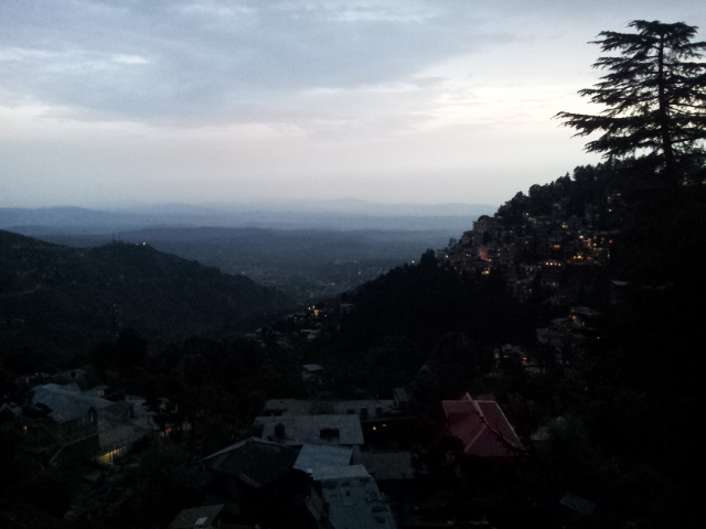 Mcleod Ganj at Dusk.