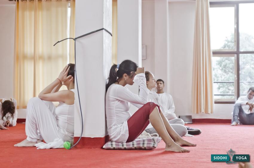 Releasing sadness as part of an evening meditation process