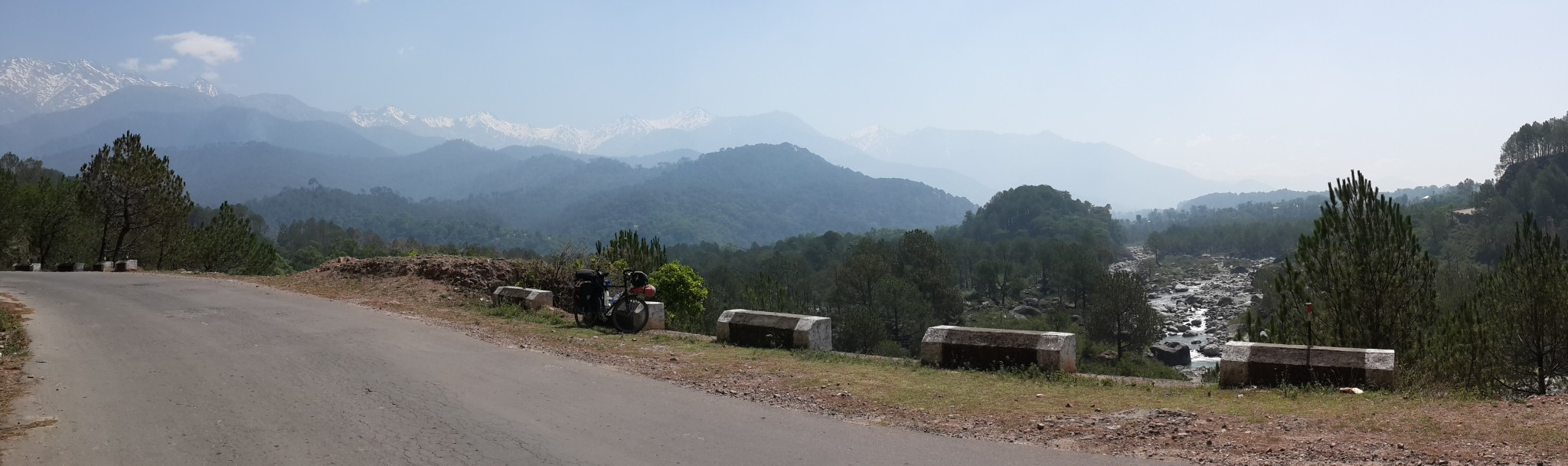 Second day on the road from McLeod Ganj.