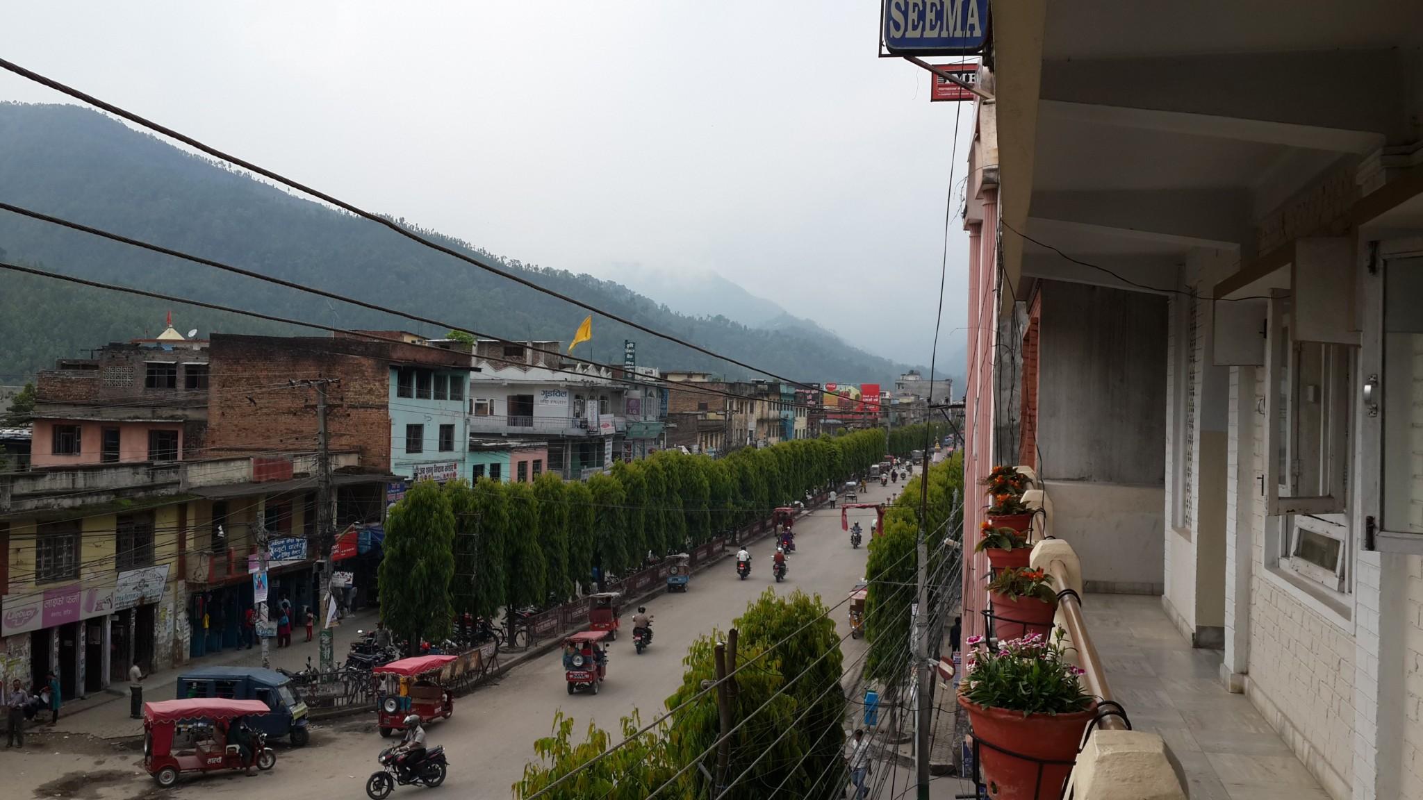 The streets of Hetauda