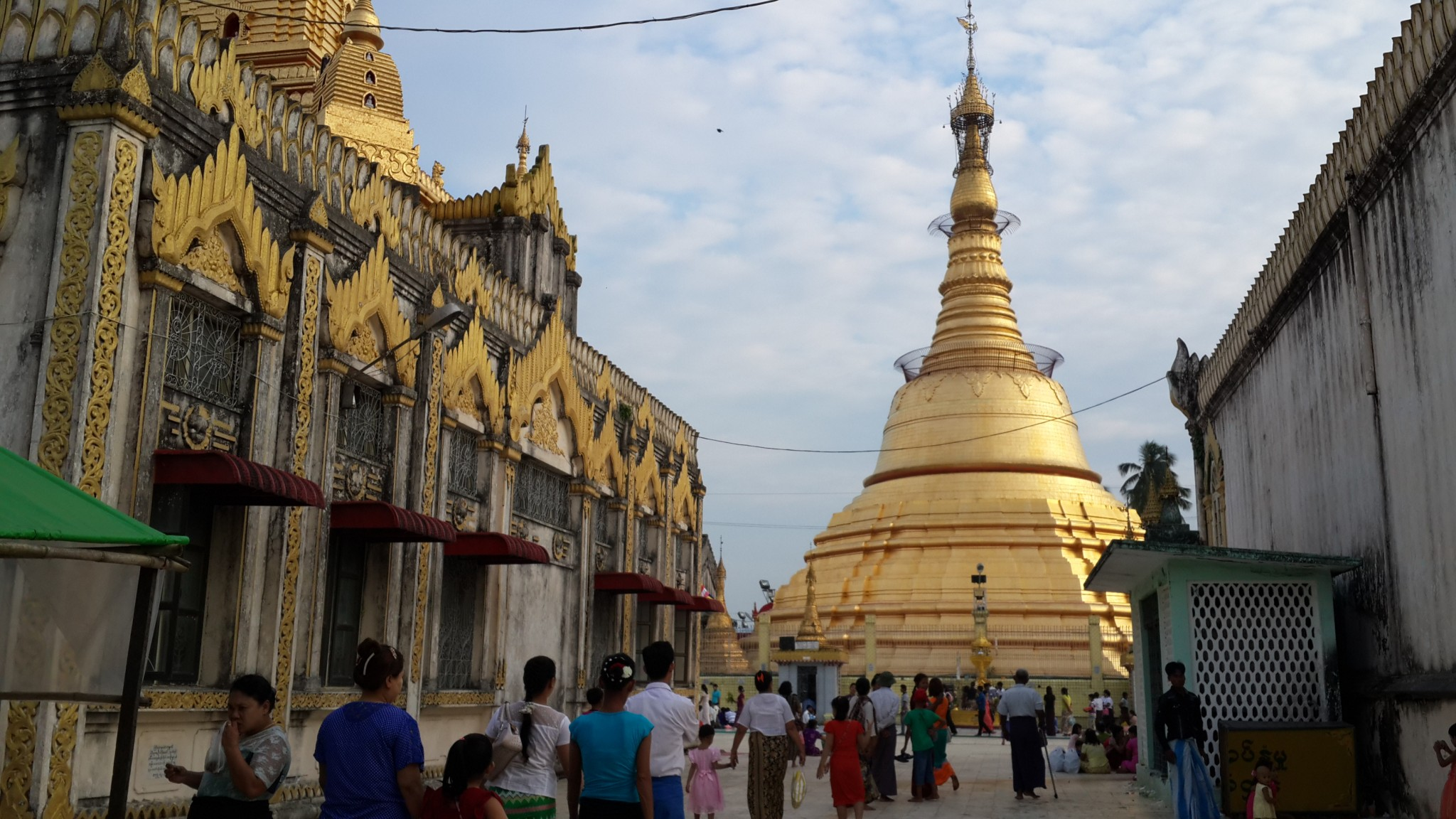 A golden Pagoda in Yangon.