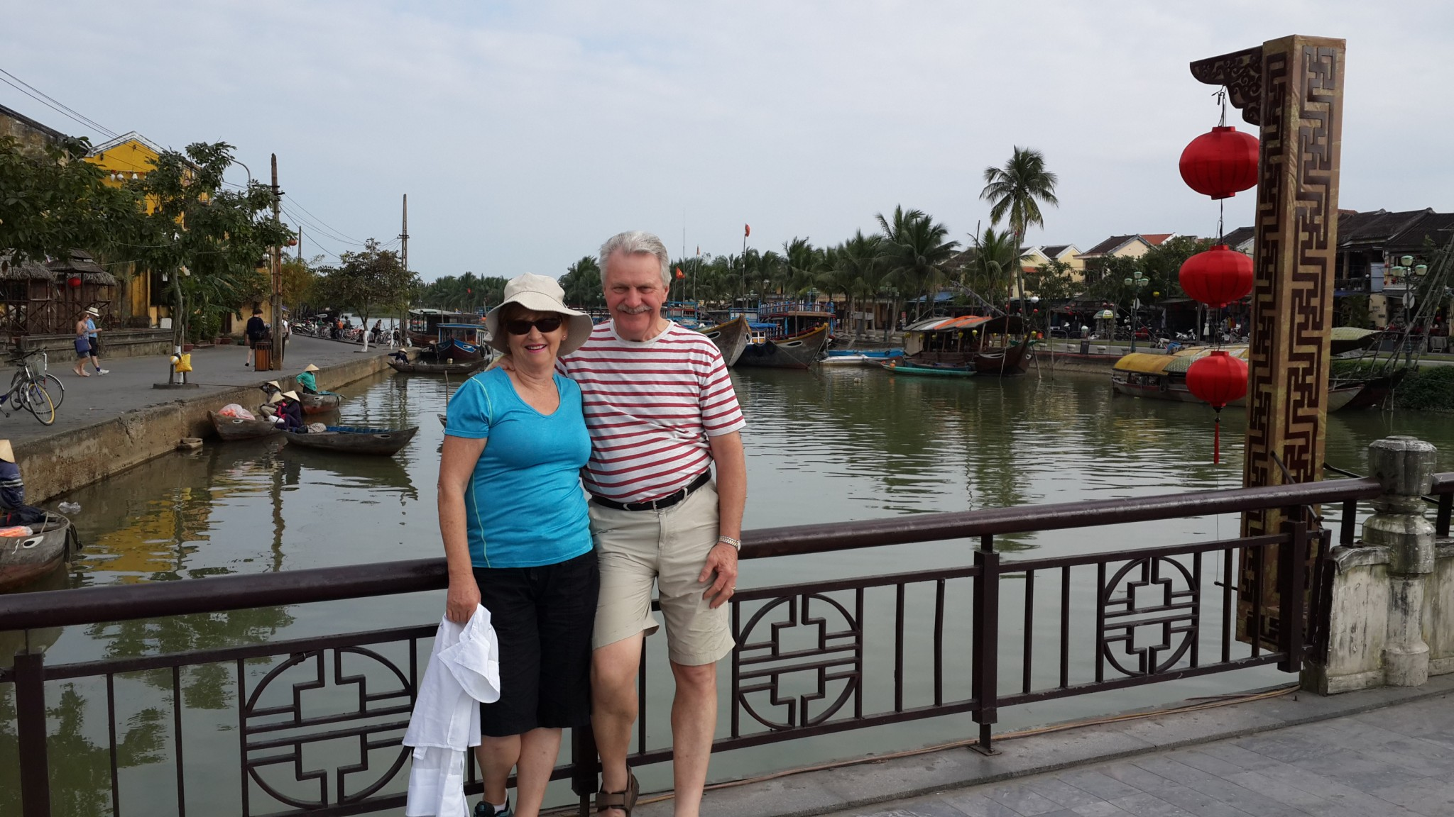 Mum and Dad in Hoi An